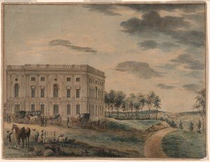 US Capitol in 1800 | Construction Just Complete