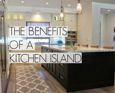 kitchen island benefits